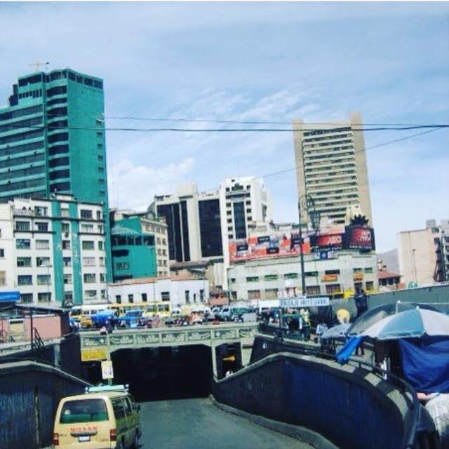 bolivian skyline